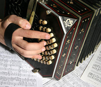 Keyboard instrument - Bandoneon