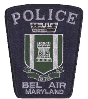 Bel Air Police Department - Image: Bapdsmallpatchclear