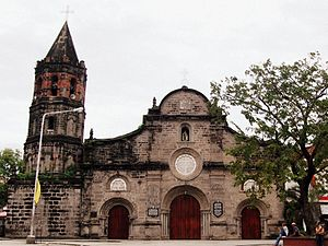 Barasoain Church in Malolos, Bulacan where the First Philippine Republic was founded.