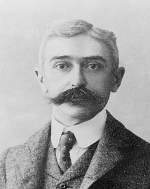 President of the International Olympic Committee - Le Baron de Coubertin.