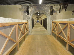 Barrage Vauban - Image: Barrage Vauban interior 2
