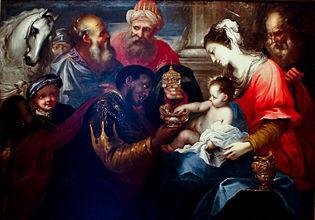Bartolomeo Biscaino, Adoration des Mages