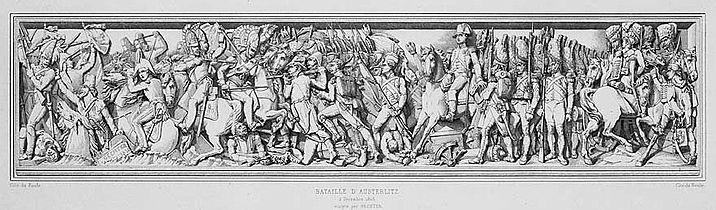 Bas-Relief Austerlitz