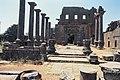 Basilica Complex, Qanawat (قنوات), Syria - East part- view through atrium to southern façade - PHBZ024 2016 1495 - Dumbarton Oaks.jpg