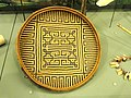 Basket with monkey motif, Ye'kuana people - South American objects in the American Museum of Natural History - DSC06065.JPG