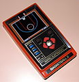 Basketball 2 by Mattel Electronics, Made In Hong Kong, Copyright 1979 (LED Electronic Handheld Game).jpg