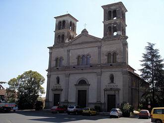 Bassano in Teverina - Image: Bassano in Teverina Chiesa dell Immacolata