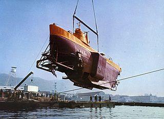 <i>Archimède</i> French Navy bathyscaphe