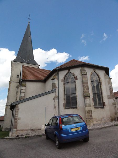 Bauzemont (M-et-M) église