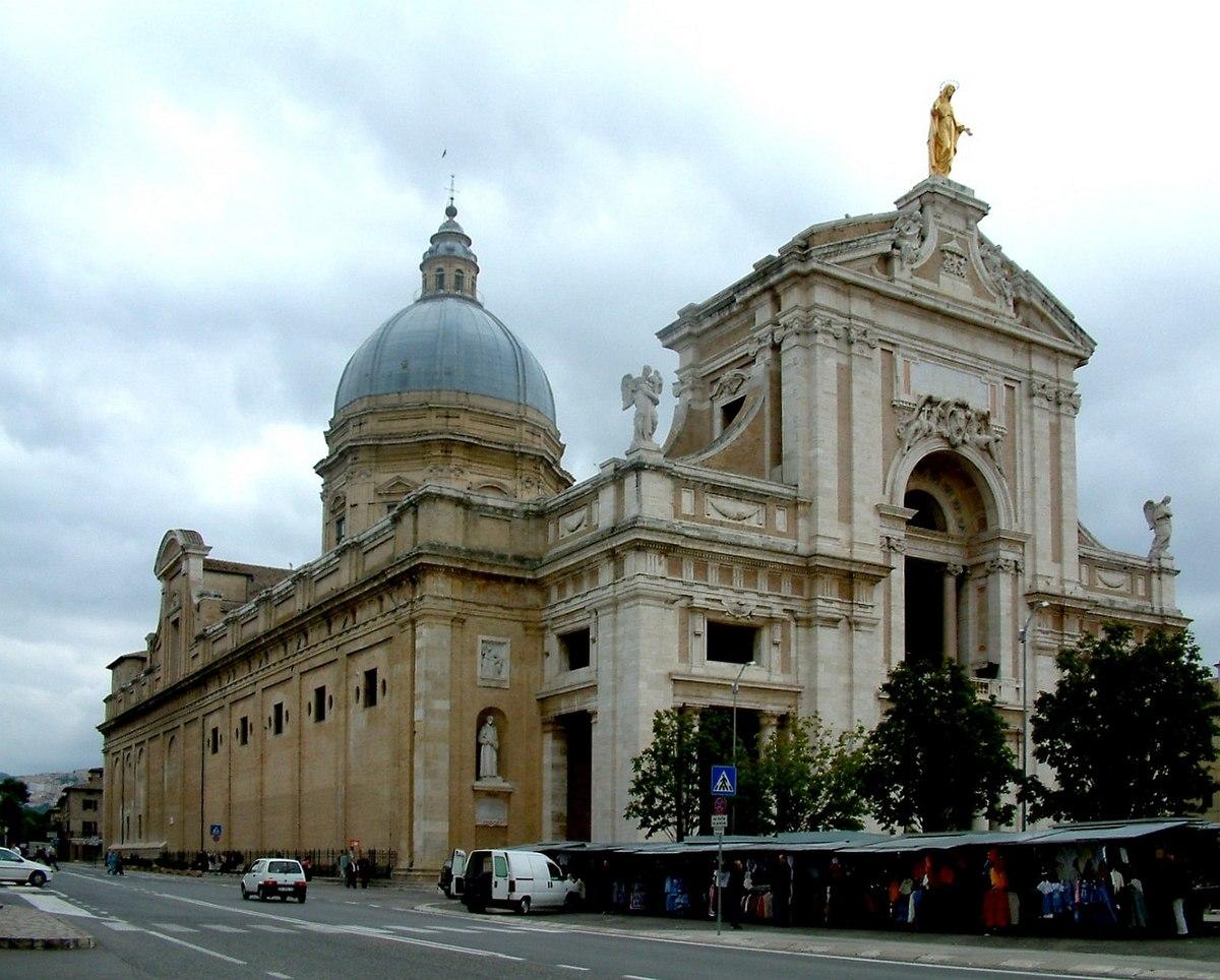 Basilica di santa maria degli angeli wikipedia for Planimetrie della casa degli artigiani