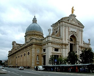 Papal Basilica of Saint Mary of the Angels in Assisi - Image: Bazylika Santa Maria degli Angeli Asyż