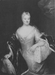 Beata Christina Lillie,1677-1727, g. 1. Sack 2. Sparre af Sundby