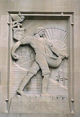 Beaumont Tower - Lee Lawrie, sculptor