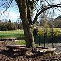 Bebankter Baum an der Grundschule - panoramio.jpg