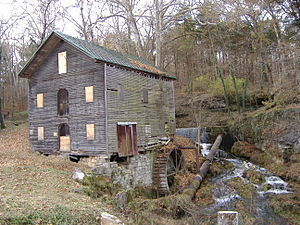 Beck's Mill, before restoration