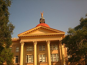 Bee County, Texas - The Bee County Courthouse in Beeville was designed by architect W.C. Stephenson, formerly of Buffalo, New York