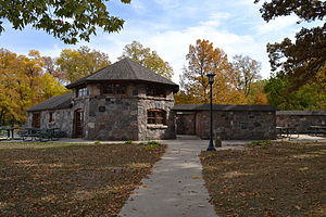Beeds Lake State Park - Bathhouse