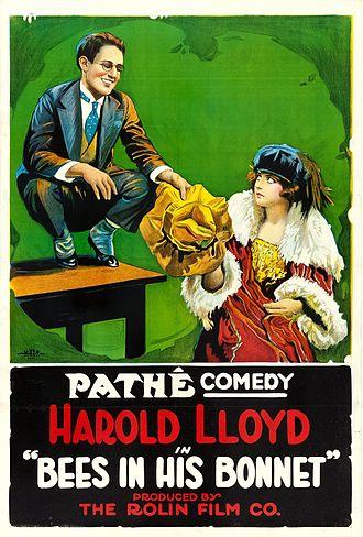 1918 in film - Bees in His Bonnet.