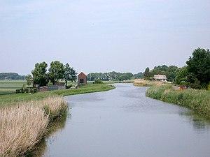 Rotte (river) - Image: Begin Van De Rotte