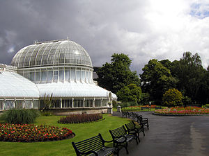 Laganbank (District Electoral Area) - The Palm House, Belfast Botanic Gardens