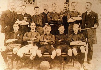 Belgrano Athletic Club - The 1902 Belgrano football team