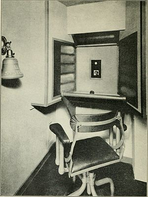 Videotelephony - Video telephone booth, 1930