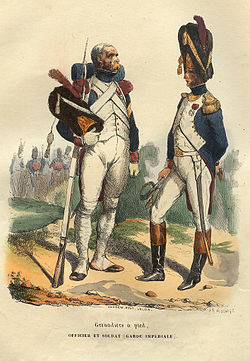 Image illustrative de l'article 1er régiment de grenadiers à pied de la Garde impériale