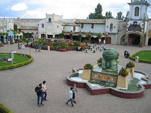 Bellewaerde - Image: Bellewaerde Mexicaans plein