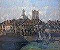Bemberg Fondation Toulouse - Dieppe, les arcades et la Darse (1898) - Walter Sickert 57x67,5.jpg