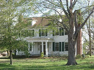 National Register of Historic Places listings in Fulton County, Kentucky - Image: Ben F. Carr, Jr. House in Fulton