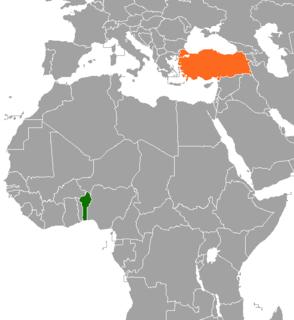 Benin–Turkey relations Diplomatic relations between Benin and Turkey
