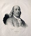Benjamin Franklin. Lithograph by J. B. Mauzaisse, 1826. Wellcome V0002043.jpg