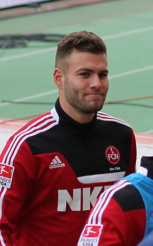Berkay Dabanlı - Berkay Dabanli with FC Nurnburg in 2013.