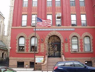 Berkeley Carroll School - The Lower School building on Carroll Street