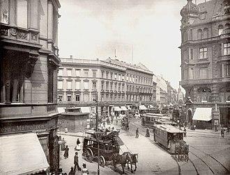 Hackescher Markt - Hackescher Markt about 1900