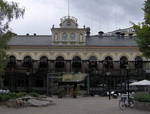 Johan Fredrik Åbom - Image: Berns salonger, framsidan