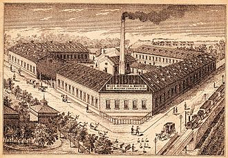 Canning - The Berthold-Weiss Factory, one of the first large canned food factories in Csepel-Budapest (1885)