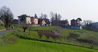 Berzano di Tortona Comune in Piedmont, Italy