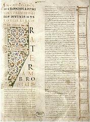 Bible géante d'Echternach