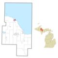 Big Bay (community), MI location.png