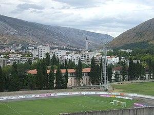 Stadion pod Bijelim Brijegom - Image: Bijeli Brijeg Stadium, Mostar