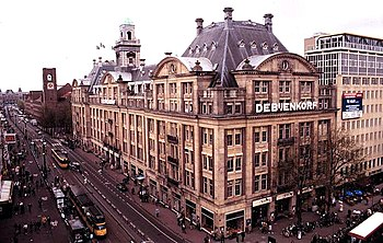 Nederlands: Bijenkorf, het originele bestand s...