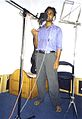 Bikash karn while recording.jpg