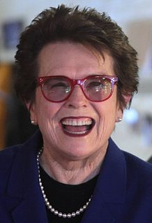 Billie Jean King American tennis player