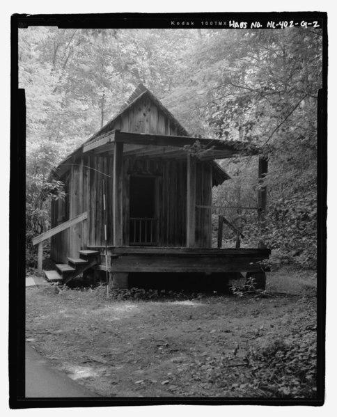 "File:Biltmore Forestry School, ""Hellhole"" Student Quarters, Brevard, Transylvania County, NC HABS NC-402-G-2.tif"
