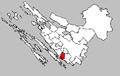 Biograd na moru map-Croatia.PNG