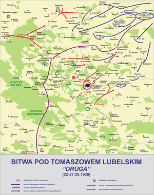 8th Legions' Infantry Regiment - Image: Bitwa tomaszow lub 2