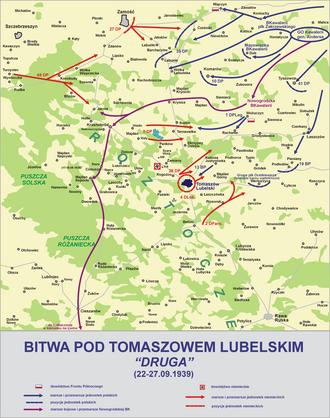 8th Legions' Infantry Regiment - Image: Bitwa tomaszow lub 2
