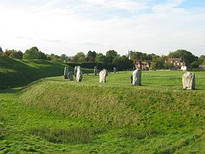 Jehovahkill - Avebury stone circle.