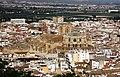 Blick von der Alcazaba auf die Kathedrale von Granada. - panoramio.jpg